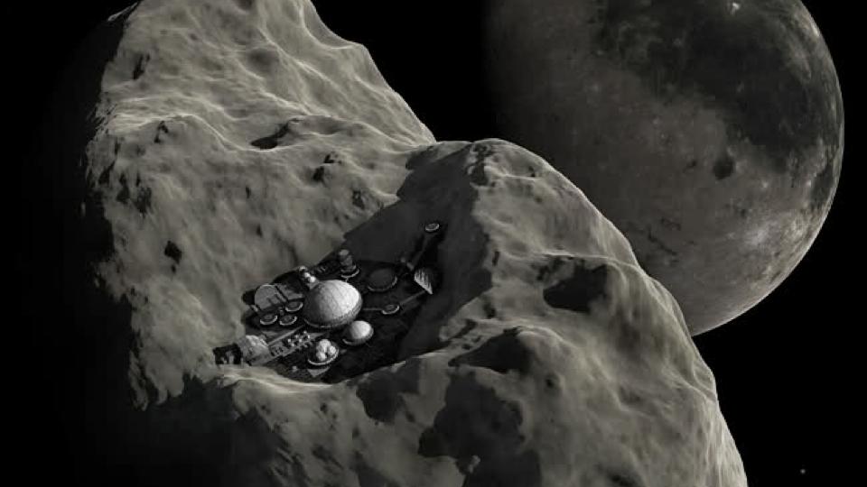 Quem quer ser um Minerador Espacial