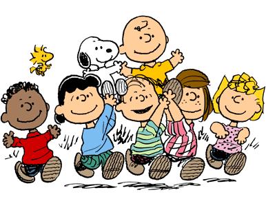 Snoopy e sua turma a caminho do cinema