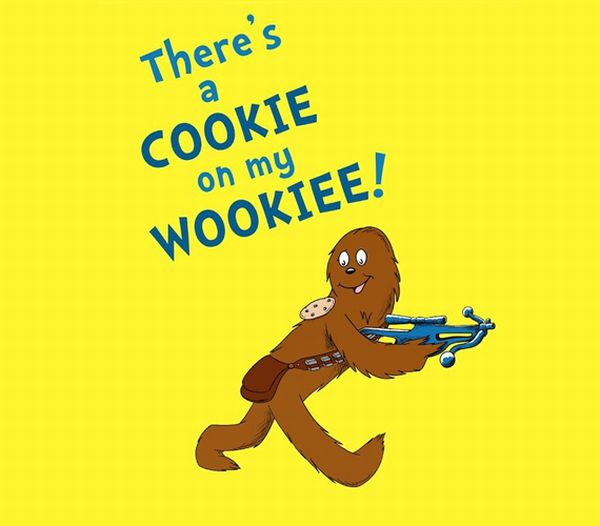 """Star Wars Reads Day e o Dr Seuss"" ""Wookiee"""