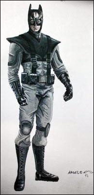 Super Realismo – heróis visualmente mais plausíveis Batman