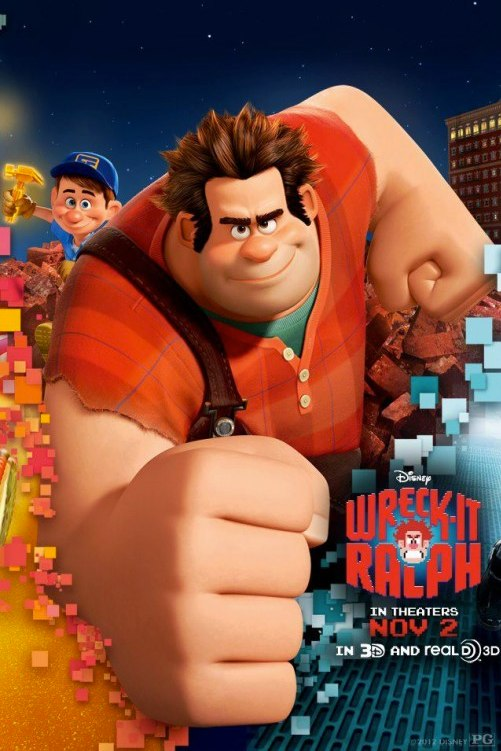 Wreck-It Ralph Latest Poster _ Teaser Trailer
