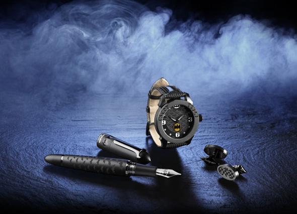 A Montegrappa apresenta a Bat-caneta, Bat-Relógio e as Bat-Abotoaduras