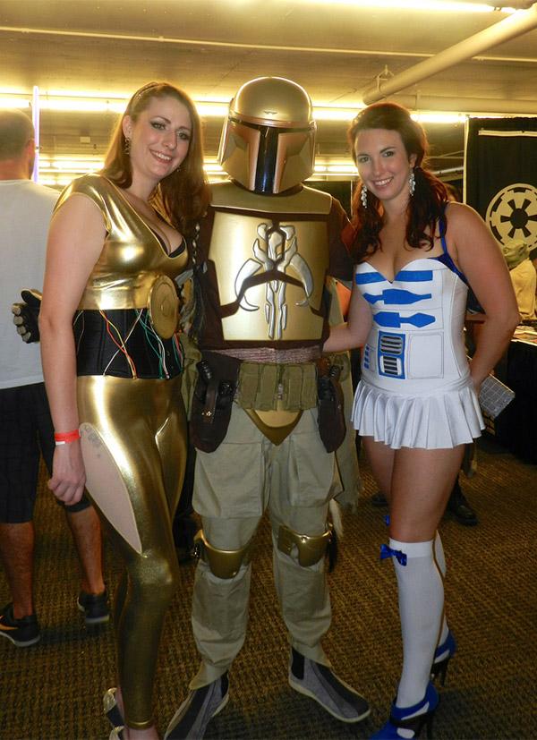 O C-3PO e o R2-D2 esse são os Droids que você está procurando [Cosplay]