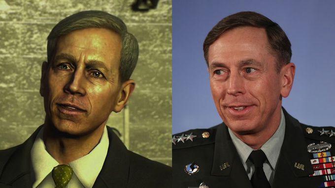 Ex-diretor da CIA é retratado em game como secretário de defesa