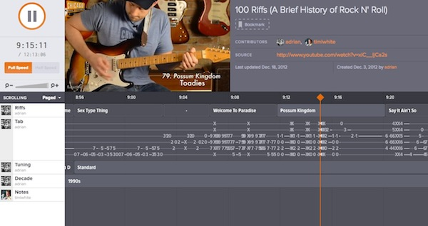 100 Riffs (A Brief History of Rock N_ Roll)   Soundslice