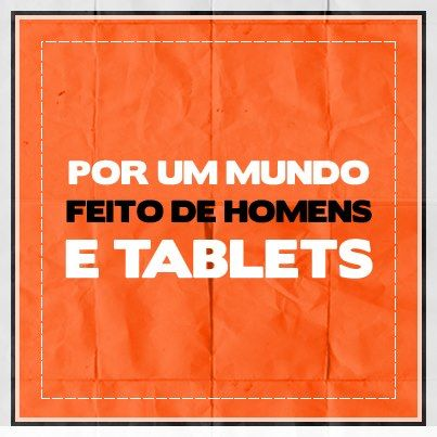 Movimento dos sem Tablet