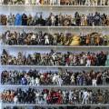 Leilão de 2000 Actions Figures da Saga Star Wars