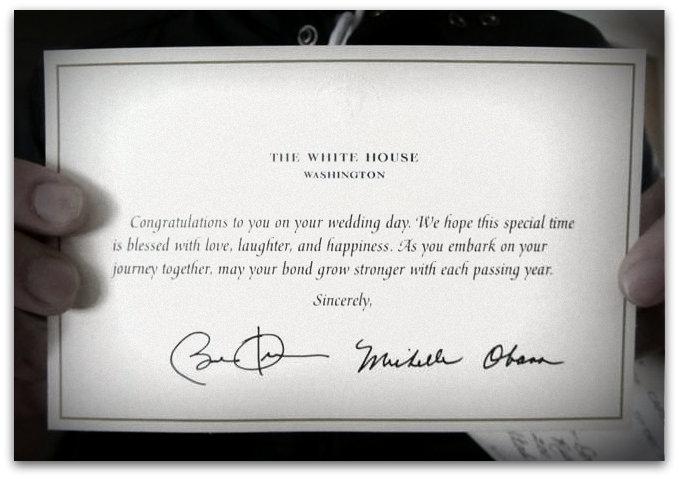 O que acontece se você convida o Obama para o seu casamento