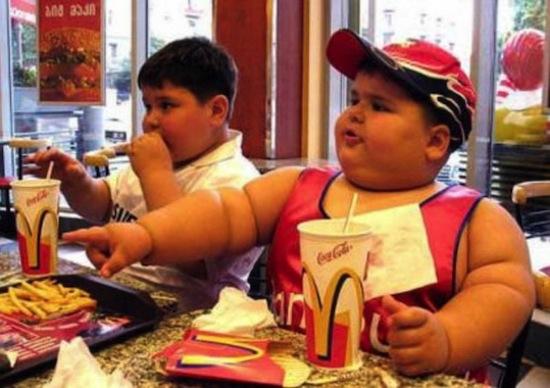 Obesidade Infantil - McDonalds
