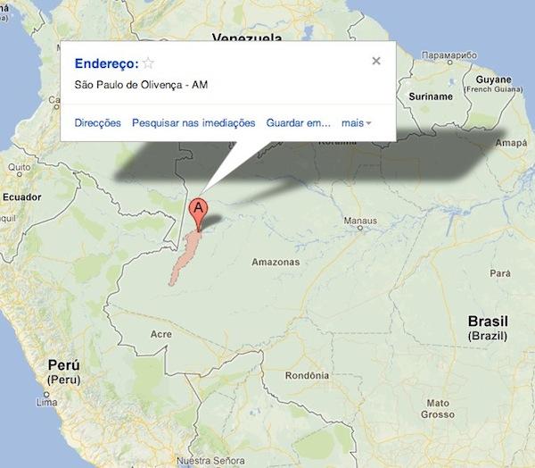 São Paulo de Olivença - Google Maps
