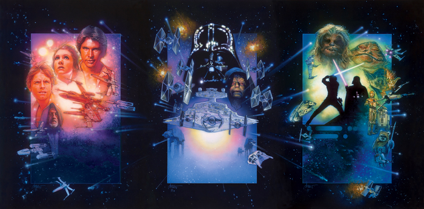 Star Wars Trilogy Drew Struzan