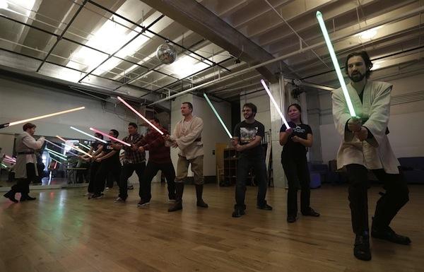 Aula para ser um Jedi 05