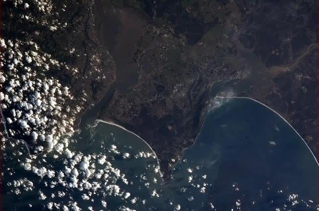O porto de Lisboa, em Portugal