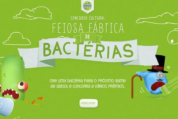 Dettol e a Feiosa Fábrica de Bactérias