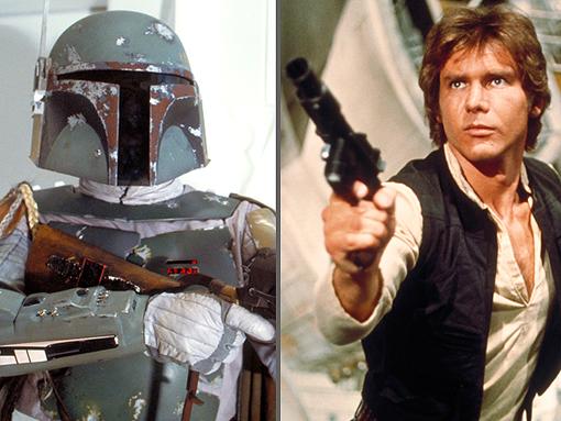 Filmes do Han Solo e Boba Fett - Sinto um distúrbio enorme na força