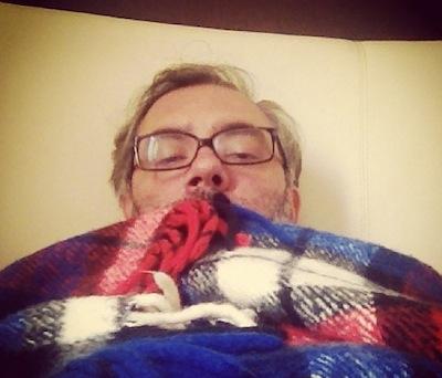 Gripe e na cama