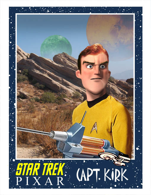 Mash-up Pixar e Star Trek