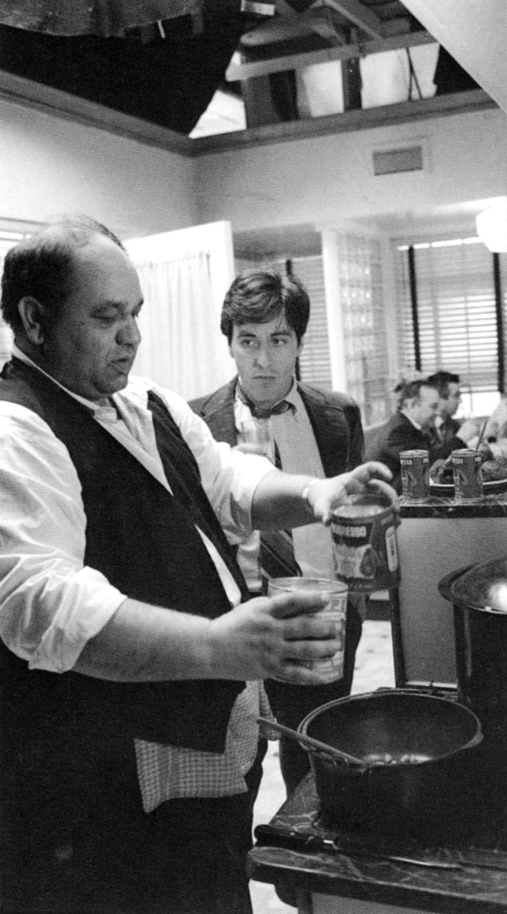 Michael Corleone e o Clemenza