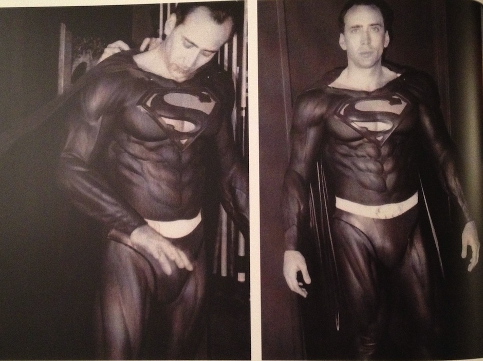 Nicolas Cage quase foi o Superman a