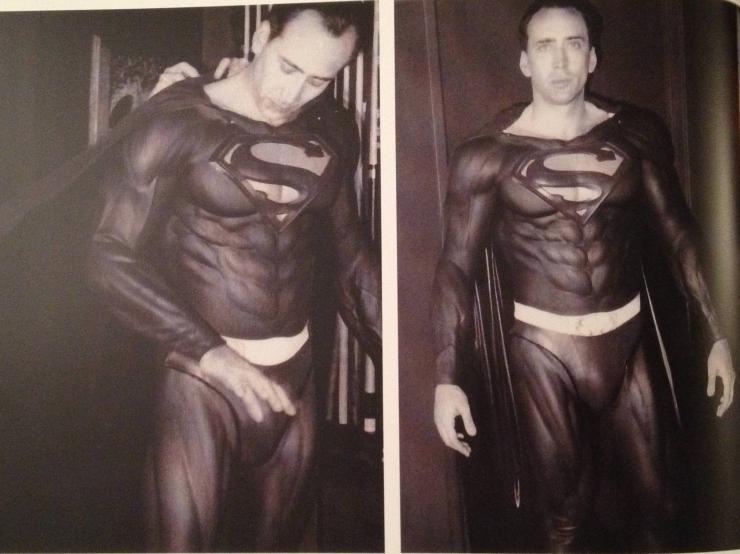 Nicolas Cage quase foi o Superman