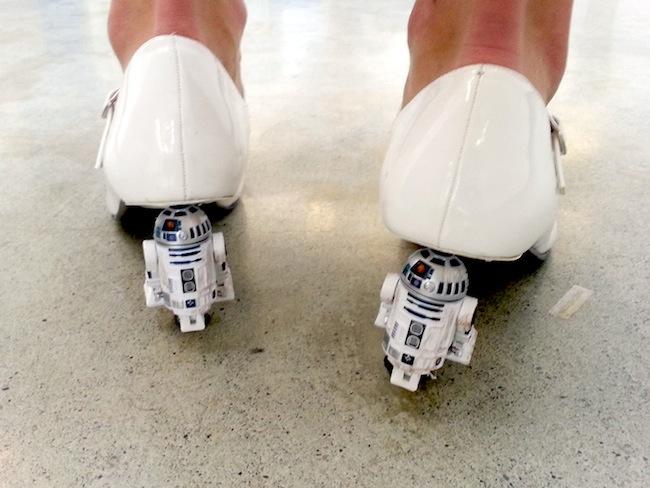 Sapato R2-D2 02