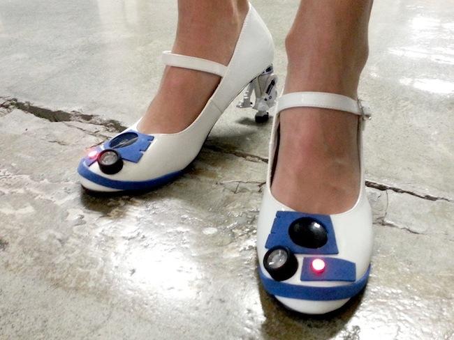 Sapato R2-D2 03