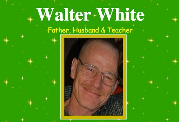 Save Walter White