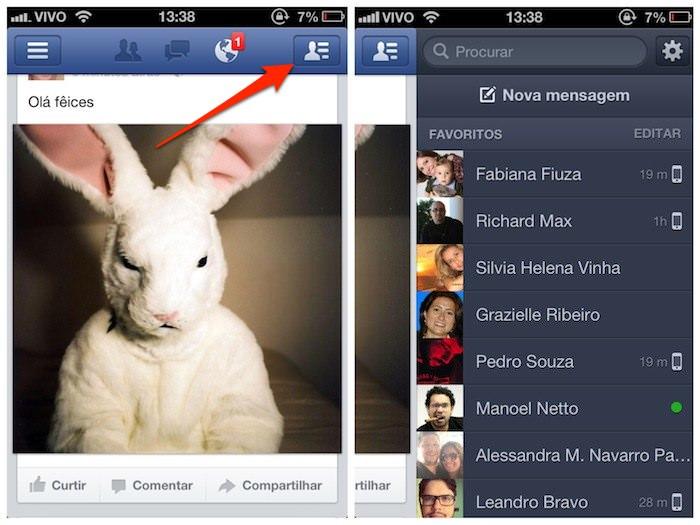 Ligações gratuitas pelo Facebook no Brasil 01