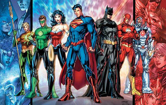 Liga da Justiça com o Christopher Nolan e Christian Bale