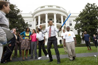 Obama Sabre de Luz