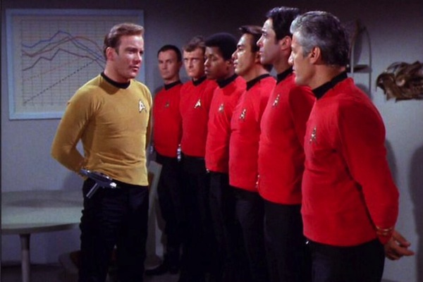 red shirts - Os camisa vermelha Star Trek
