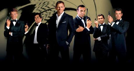 Todos os James Bonds
