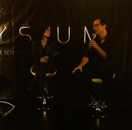 """Entrevista Wagner Moura e Alice Braga"" ""Elysium"""