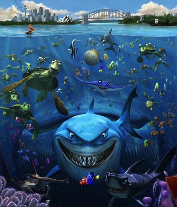 Finding Dory - Procurando Nemo
