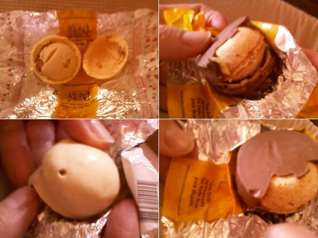 Larvas em bombons de chocolate - O que acontece de fato?