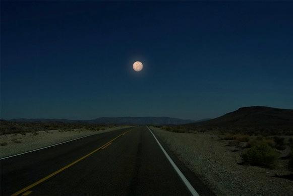 Lua trocada Mercurio