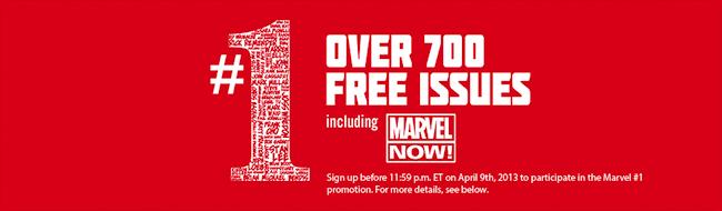 Marvel oferece gratuitamente mais de 700 quadrinhos digitais