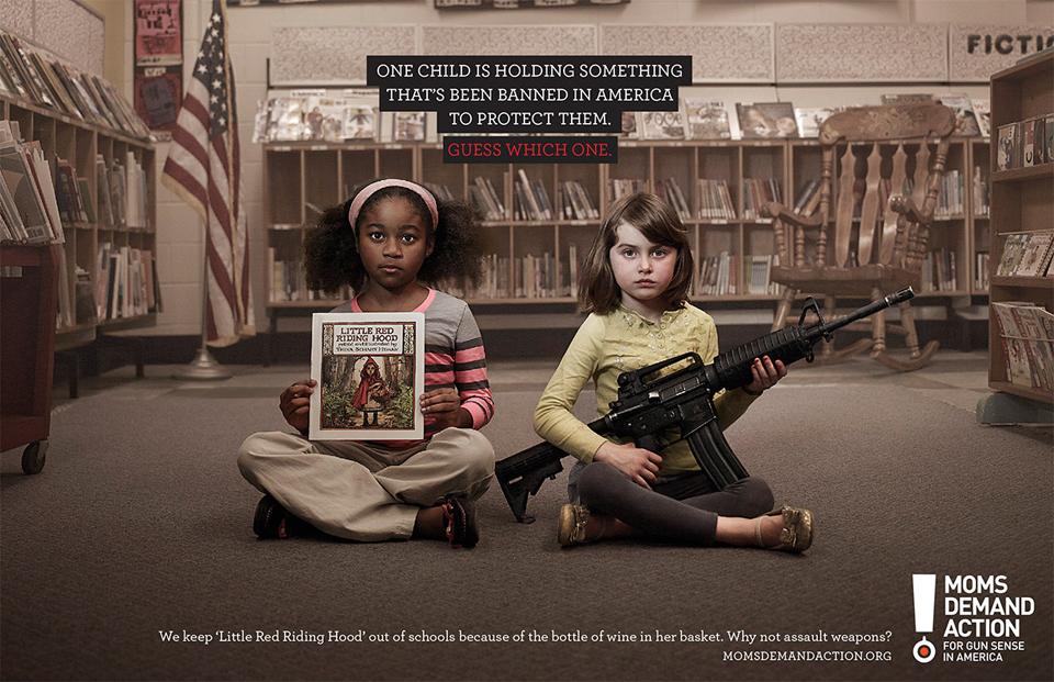 O que foi banido nos EUA, armas ou a Chapeuzinho Vermelho