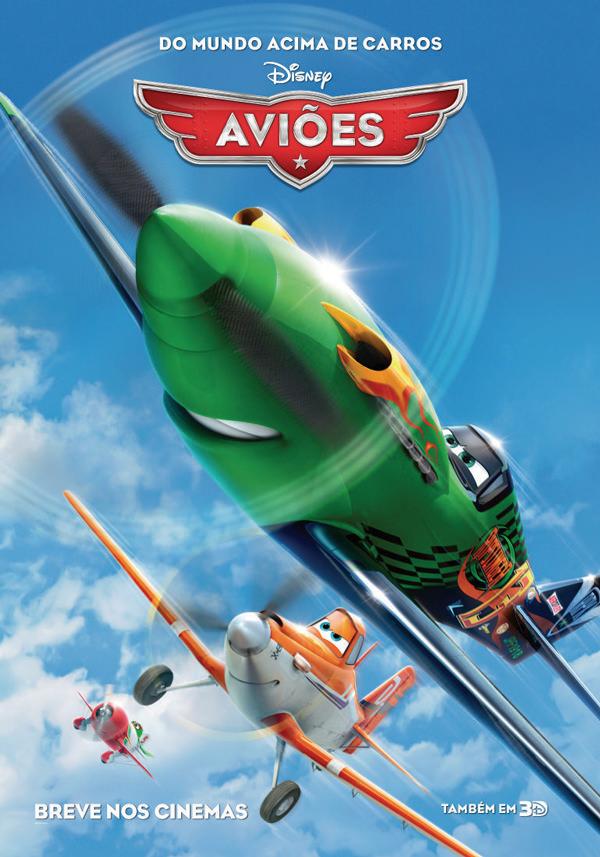 aviões - disney - poster