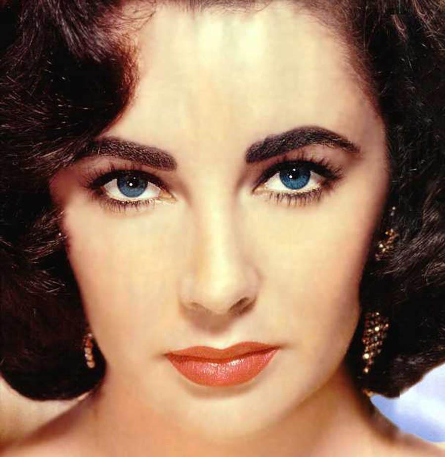 Olhos da Elizabeth Taylor