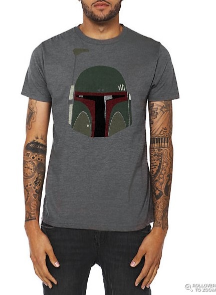 Star Wars Boba Fett Helmet T-Shirt | Hot Topic