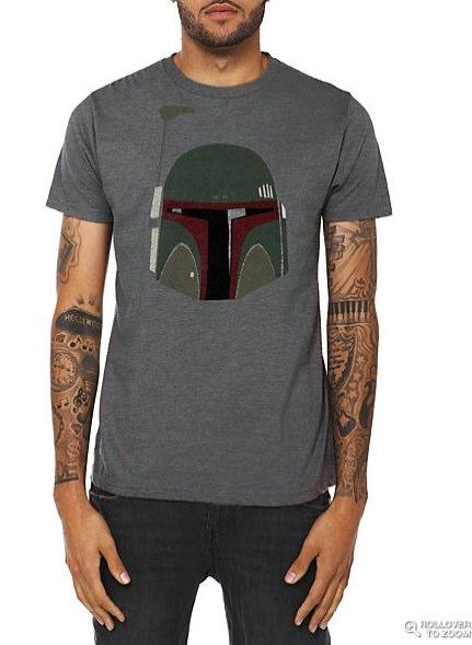 Star Wars Boba Fett Helmet T-Shirt | Hot Topic