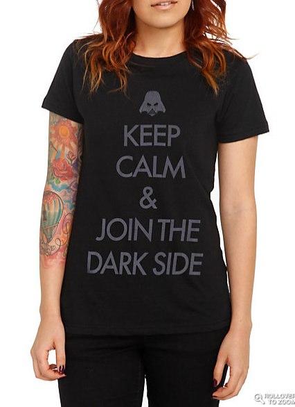Star Wars Keep Calm Girls T-Shirt | Hot Topic