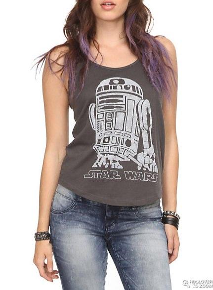 Star Wars R2-D2 Girls Tank Top | Hot Topic