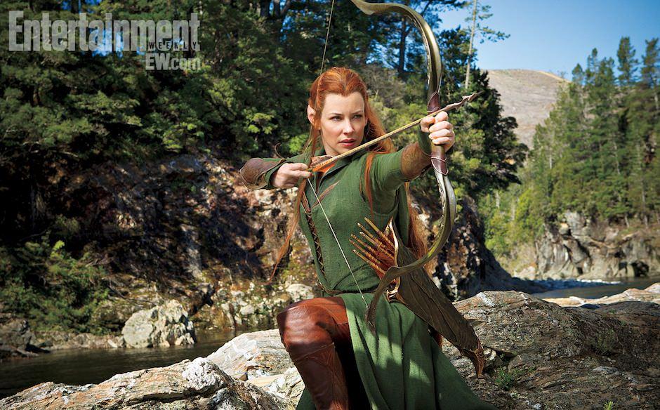 Evangeline Lilly em The Hobbit: The Desolation of Smaug