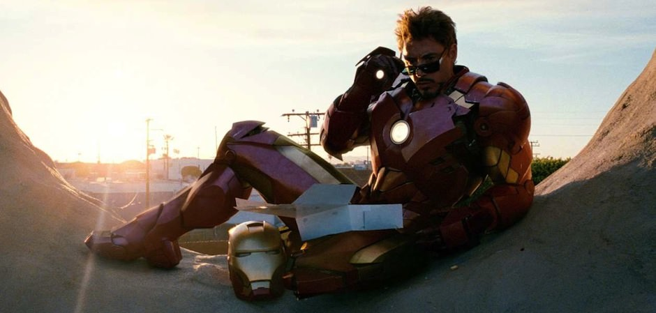 Homem de Ferro e Robert Downey Jr