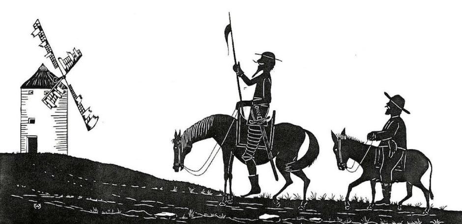 Moinhos de Vento - Don Quixote