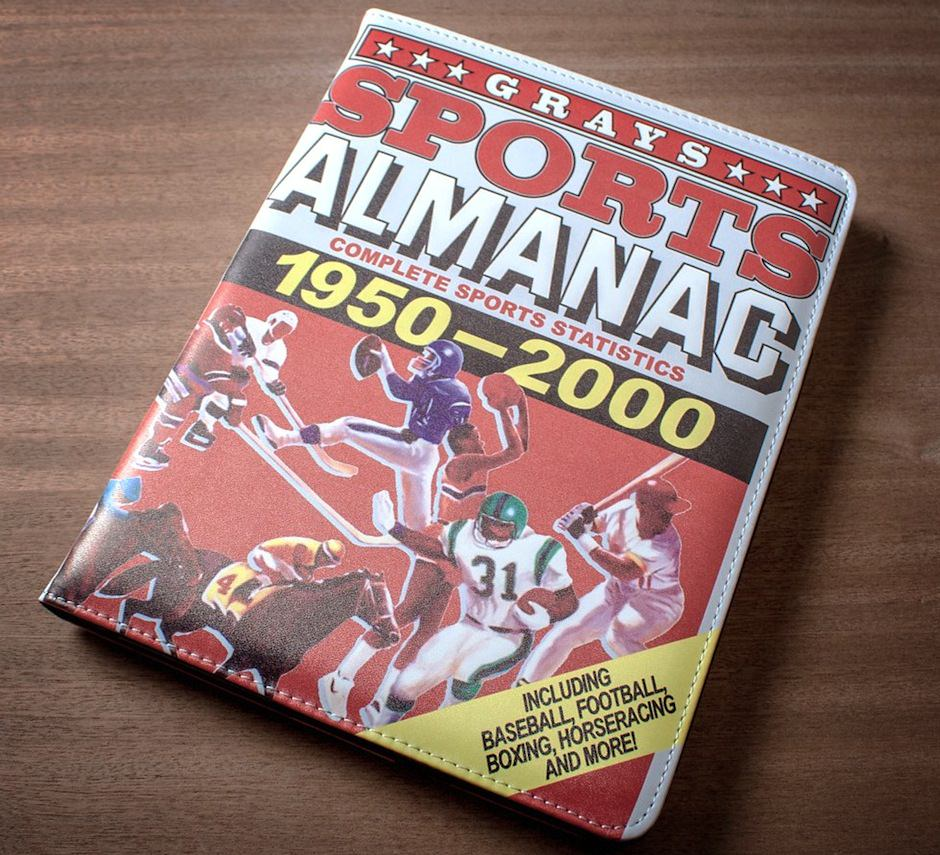 Sports Almanac iPad Case
