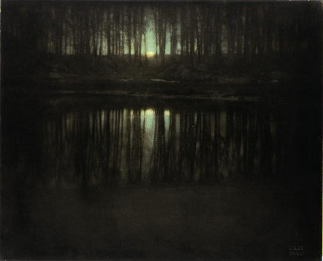 08 A Lagoa:O Luar, por Edward Steichen (1904)