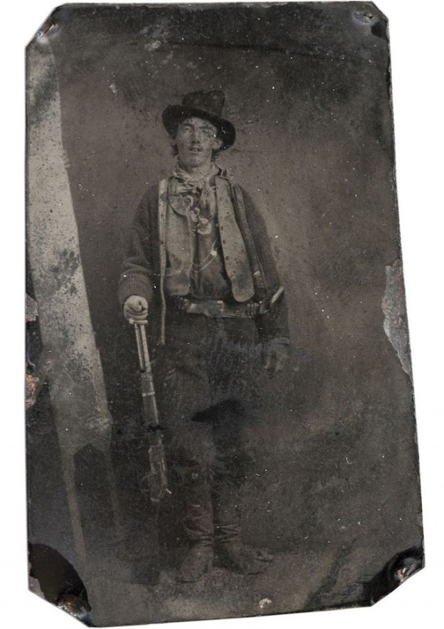 10 Billy The Kid, fotógrafo desconhecido (1880)